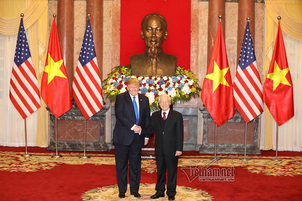 Tổng thống Trump mời Tổng bí thư, Chủ tịch nước thăm Mỹ năm nay