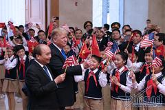 Thủ tướng Nguyễn Xuân Phúc hội kiến với Tổng thống Donald Trump