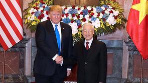 Tổng bí thư, Chủ tịch nước tiếp Tổng thống Donald Trump