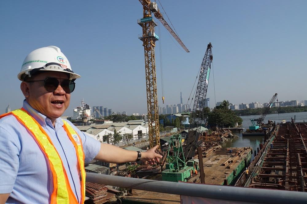 Tái khởi động dự án chống ngập 10.000 tỷ ở Sài Gòn