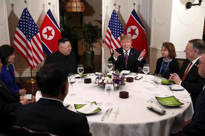 Thực đơn bữa tối của lãnh đạo Mỹ-Triều ở khách sạn Metropole