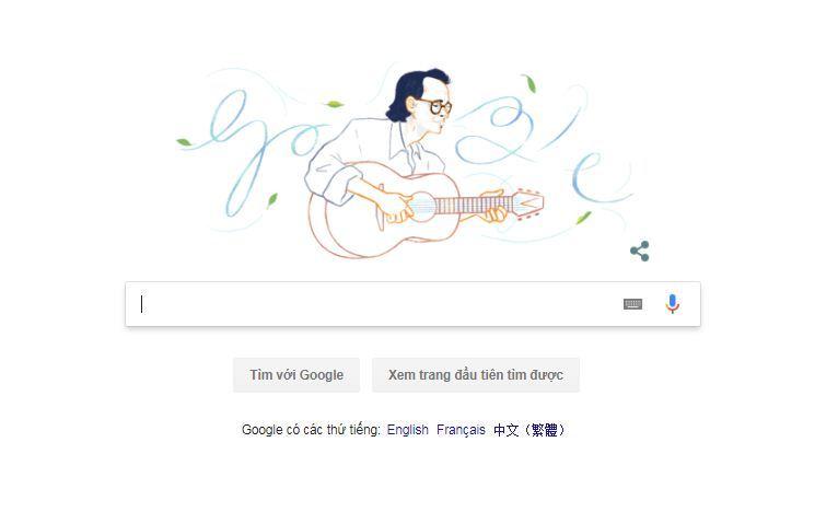 Trịnh Công Sơn,Google
