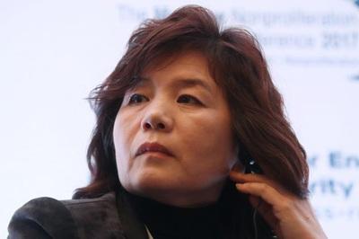 Nữ thứ trưởng 'cực thông minh' tháp tùng ông Kim Jong Un ở Hà Nội