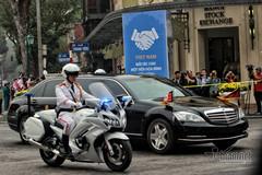 Cấm nhiều tuyến đường phục vụ chuyến thăm của Chủ tịch Triều Tiên