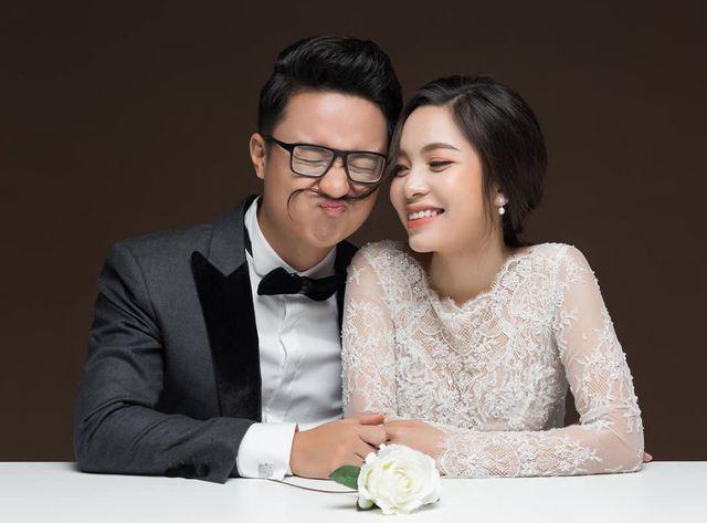 MC 'Cà phê sáng' Dương Sơn Lâm tung bộ ảnh cưới ngọt ngào trước kết hôn