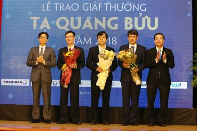 Công bố 8 đề cử giải thưởng Tạ Quang Bửu 2019