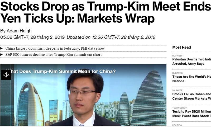 Thượng đỉnh Mỹ-Triều không có thỏa thuận: 'Làn sóng đỏ' chấn động khắp châu lục