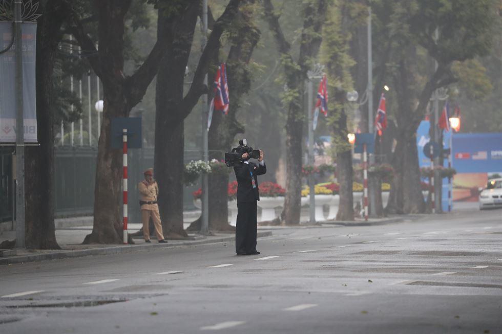 Xem phóng viên Triều Tiên tác nghiệp tại Việt Nam