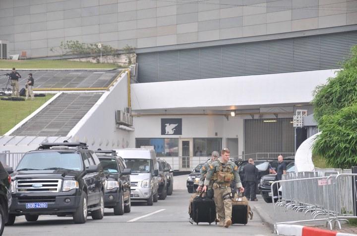 Mật vụ Mỹ thu dọn đồ đạc, tạm biệt khách sạn Marriott