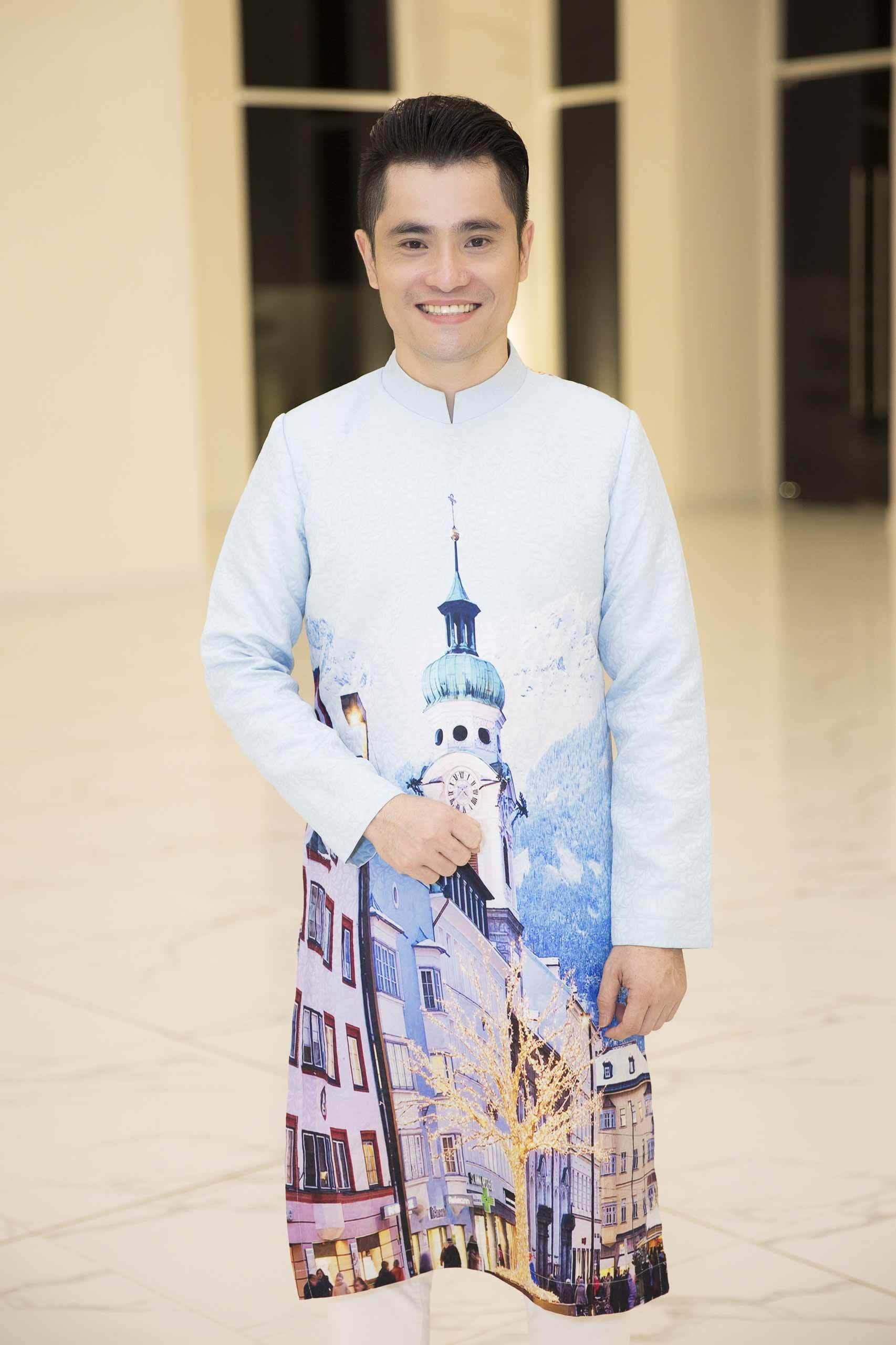 Bộ sưu tập áo dài 'Khát vọng vươn xa' hướng đến bảo vệ môi trường