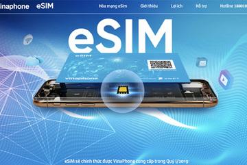 Đã có thể đăng ký đổi eSIM VinaPhone