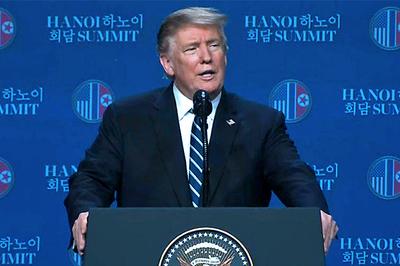 Tổng thống Mỹ giải thích việc không ký thỏa thuận với Triều Tiên