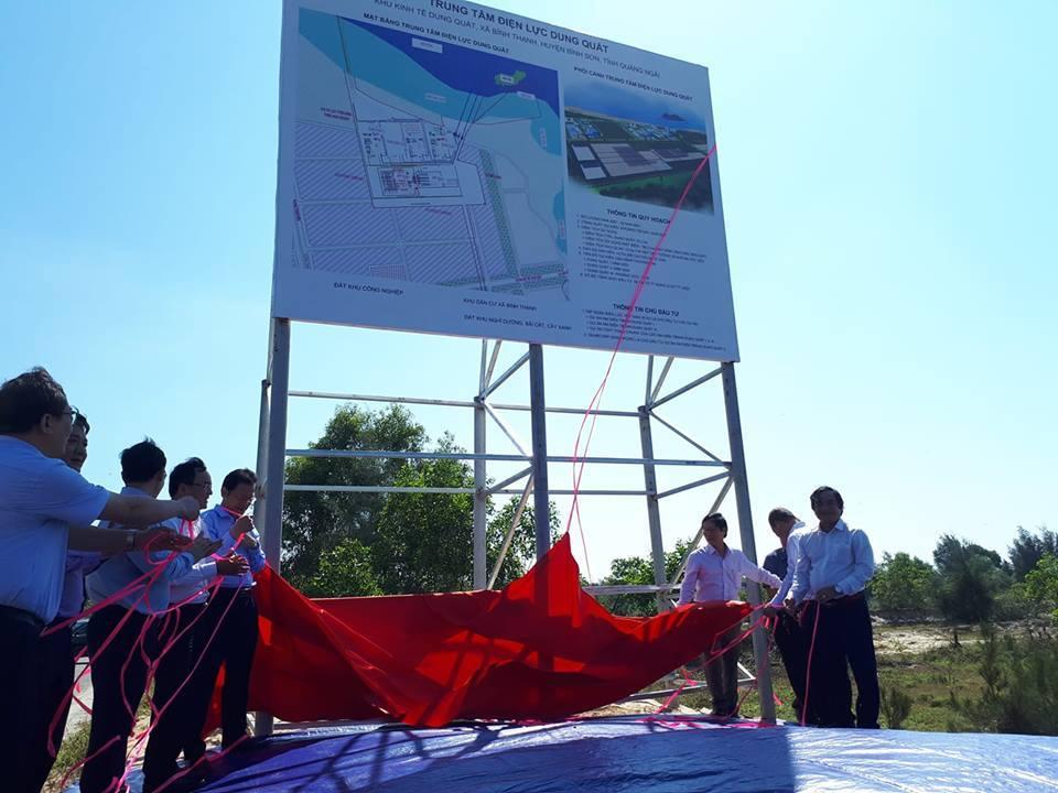Hơn 3 tỷ USD xây Trung tâm điện lực Dung Quất