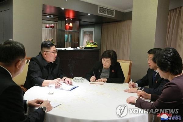 Nữ Thứ trưởng Triều Tiên đồng chủ trì họp báo lúc nửa đêm ở Melia là ai?