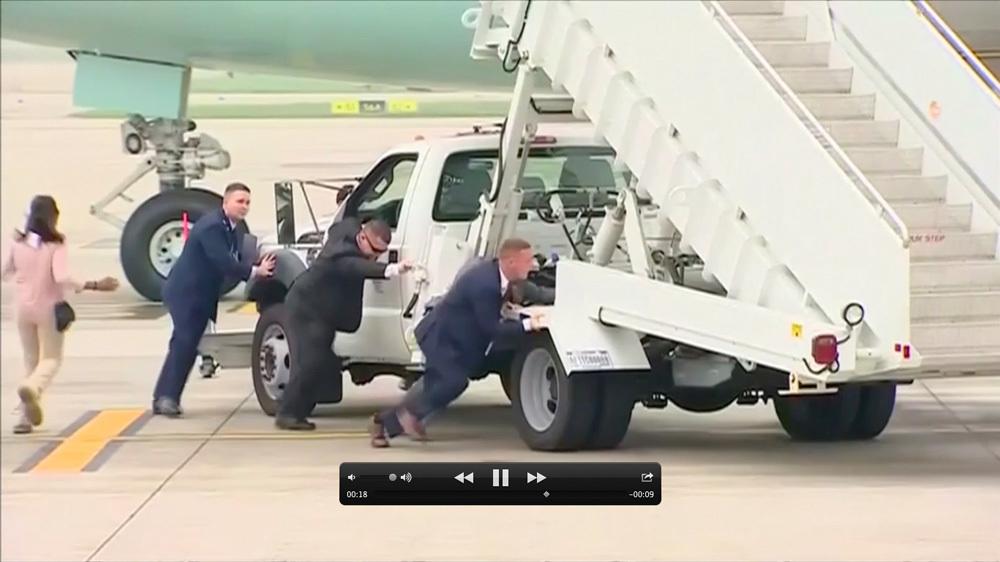 Donald Trump,Air Force One,sân bay Nội Bài