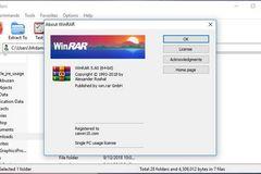 Nâng cấp WinRAR ngay nếu bạn không muốn bị 'tấn công mạng'