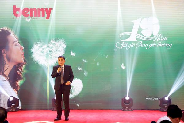 Benny - 10 năm 'gửi gió trao yêu thương'