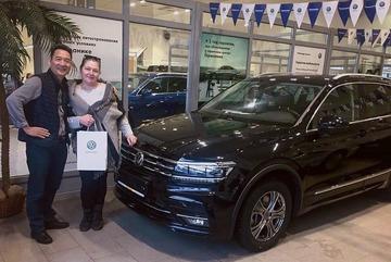 """Lâm """"Tây"""" tặng bố xe Volkswagen giá hơn 500 triệu"""