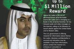 Mỹ treo thưởng hơn 23 tỷ bắt con trai Bin Laden