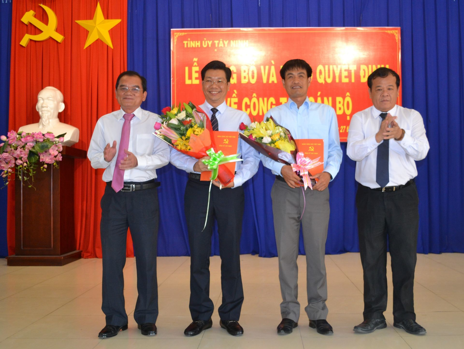 5 địa phương điều động, bổ nhiệm nhân sự