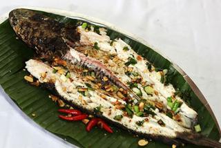 Cuối tuần đổi vị với món cá lóc rang muối