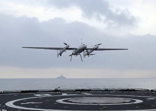 Lộ diện máy bay cánh cố định cất hạ cánh thẳng đứng trên hạm tàu