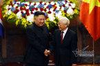 Tổng bí thư, Chủ tịch nước hội đàm với Chủ tịch Kim Jong-un