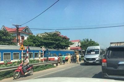 Đội phó CSGT ở Bắc Giang bị tàu hỏa cán chết khi làm nhiệm vụ