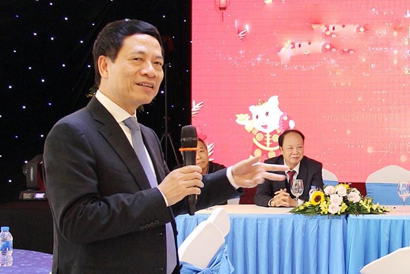 Bài phát biểu của Bộ trưởng Nguyễn Mạnh Hùng tại Hội nghị triển khai nhiệm vụ Ngành TT&TT 2019