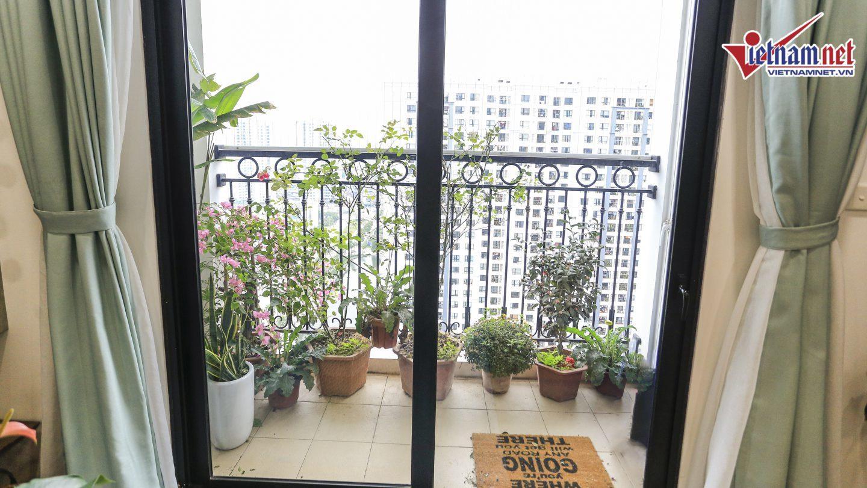 Bên trong căn hộ 82m2 ở chung cư cao cấp của NTK Hà Duy