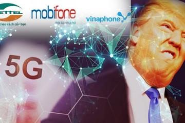 Ba nhà mạng bị phạt nặng, TT. Donald Trump muốn sớm có mạng 6G