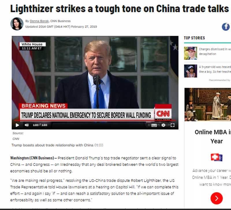 Trung Quốc,Donald Trump,Kim Jong-un,thượng đỉnh Mỹ Triều,chiến tranh thương mại,cuộc chiến thương mại,Tập Cận Bình