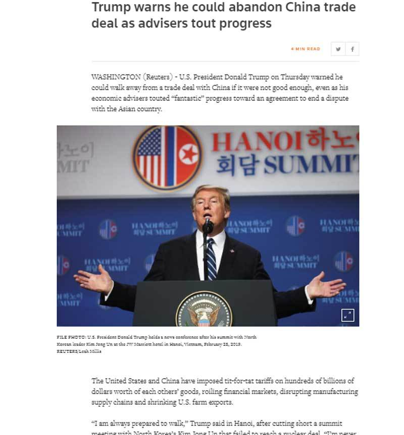 'Luôn sẵn sàng rời bỏ': Donald Trump cân não và khó lường