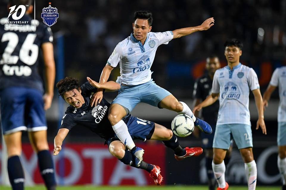 Suphanburi vs Buriram,Xuân Trường