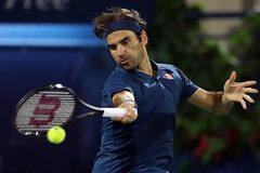 """Roger Federer """"tốc hành"""" vào chung kết Dubai Open"""