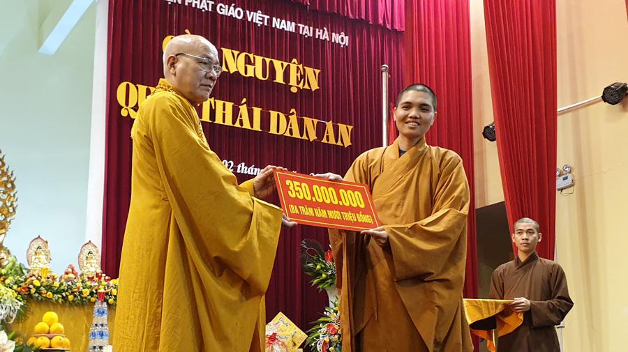 Học viện Phật giáo Việt Nam tiếp nhận trên 14 tỷ đồng tiền công đức