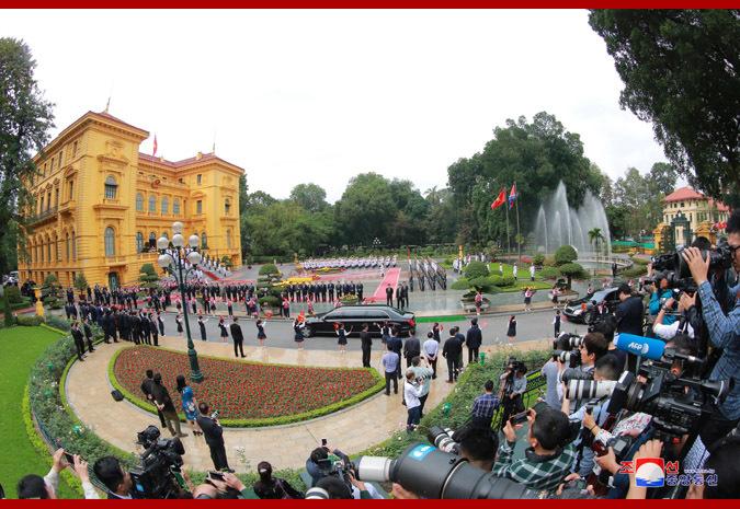 Hội nghị Mỹ Triều,hội nghị thượng đỉnh Mỹ Triều,thượng đỉnh Mỹ Triều,Kim Jong Un,Tổng bí thư Nguyễn Phú Trọng,Nguyễn Phú Trọng