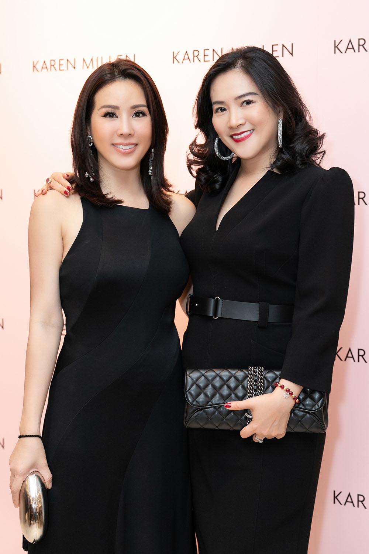 Hoa hậu Thu Hoài tiết lộ tình bạn đặc biệt với bà xã Bình Minh