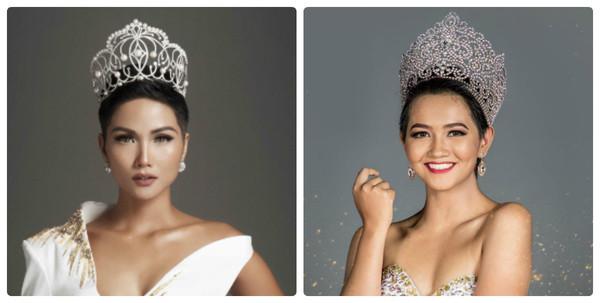 Thí sinh hoa hậu Philippines gây chú ý vì quá giống H'Hen Niê