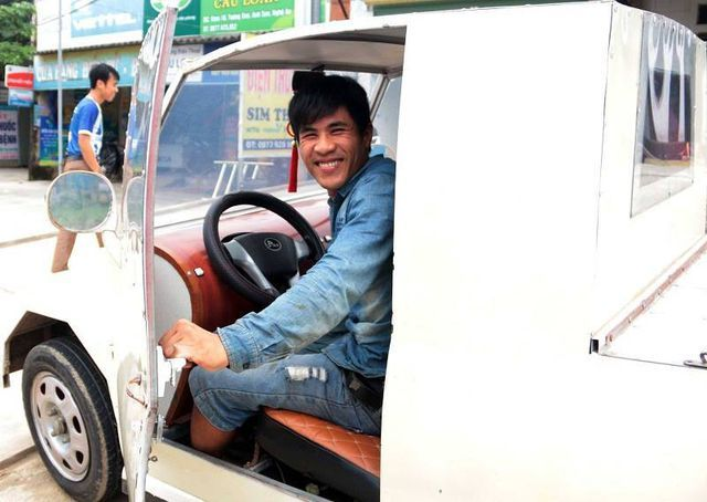 'Siêu xe' tự chế của 9X Nghệ An chỉ hết 25 triệu đồng