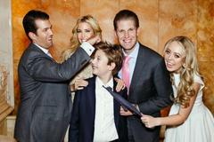 Cách dạy con 'sinh ra là con vua, lớn lên kiểu con lính' của ông Trump