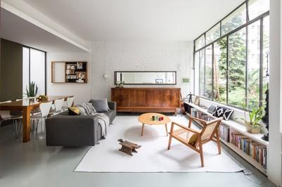 Ngỡ ngàng căn hộ qua 2 thế kỷ vẫn đẹp như mơ