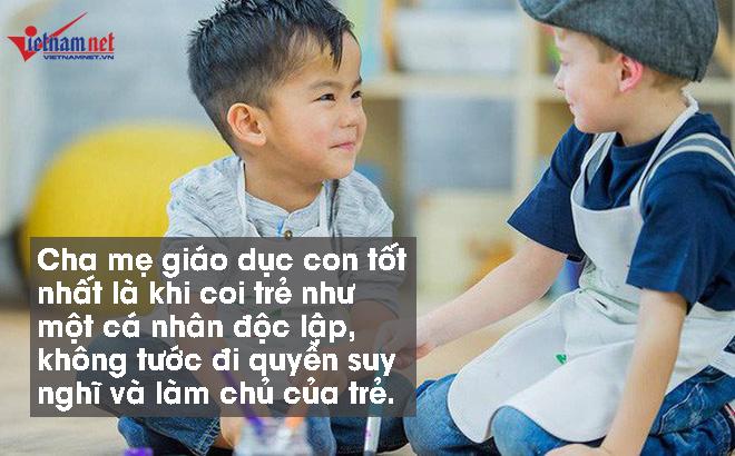 Trẻ có 5 biểu hiện này chứng tỏ cha mẹ đang dạy con đúng cách
