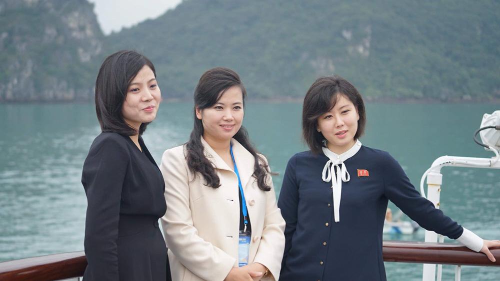 Vẻ rạng rỡ của những bóng hồng Triều Tiên trên đất Việt