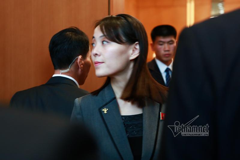 Nét thanh lịch của em gái Chủ tịch Kim Jong-un ở Hà Nội