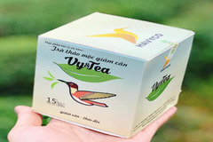 Thu hồi trà thảo mộc Vy&Tea nhiễm chất cấm