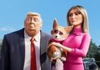 Vợ chồng Donald Trump xuất hiện trong phim hoạt hình Hollywood