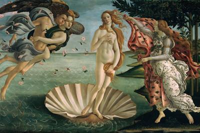 Vẻ đẹp tuyệt mỹ của người phụ nữ qua những bức họa kinh điển