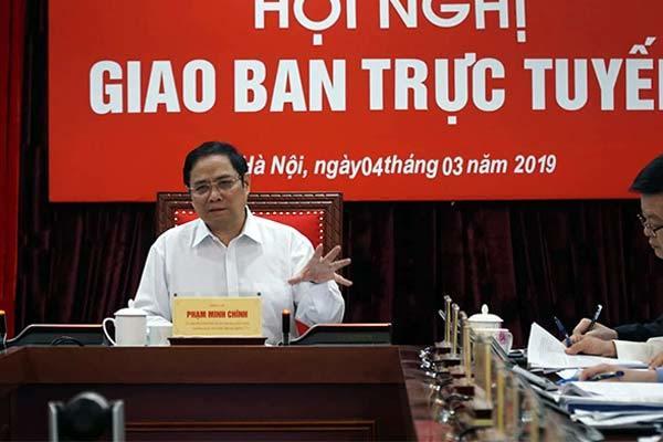 Trưởng ban Tổ chức TƯ:,Phạm Minh Chính,chạy chức,chạy quyền