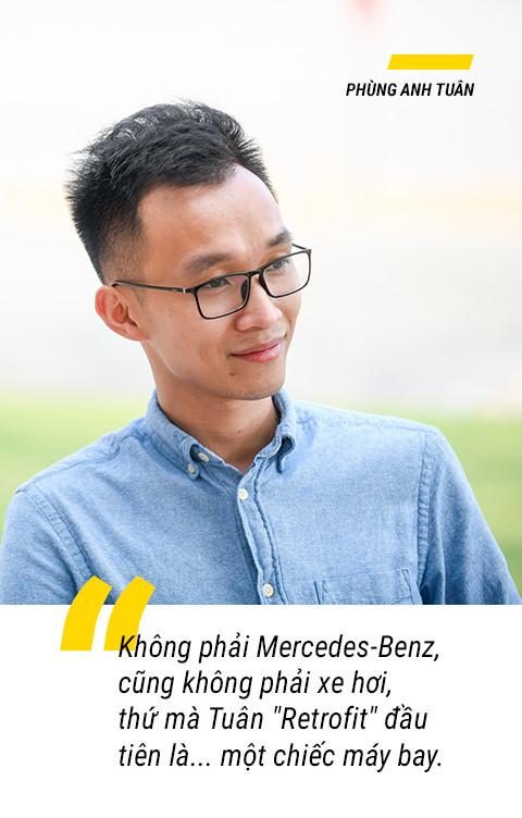 Chàng trai kiếm bộn tiền nhờ biệt tài nâng cấp xe Mercedes